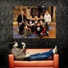 The Big Bang Theory Cuoco Galecki Parsons Helberg Nayyar Huge 47x35 POSTER