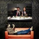 Skeleton Poker Emily Deschanel David Boreanaz Bones TV Series Huge 47x35 POSTER
