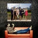Gossip Girl City Skyline Crawford Westwick Momsen Szohr Huge 47x35 POSTER