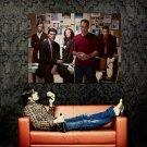 Criminal Minds Shemar Moore Gubler Gibson TV Series Huge 47x35 POSTER