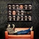 Skulls Emily Deschanel David Boreanaz Bones TV Series Huge 47x35 POSTER