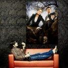 Skull Emily Deschanel David Boreanaz Bones TV Series Huge 47x35 POSTER