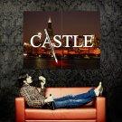 Castle Logo City Skyline Night Blood TV Series Huge 47x35 POSTER