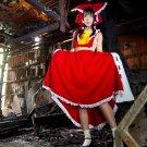 Hakurei Reimu Saku Red Girl Japanese Cosplay Huge 47x35 Print Poster
