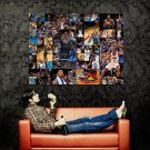 Dwight Howard Orlando Magic Collage NBA Basketball Huge 47x35 POSTER