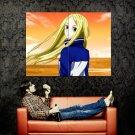 Arakawa Under The Brige Cute Blonde Girl Anime Art Huge 47x35 POSTER