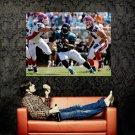 Maurice Jones Drew Jacksonville Jaguars NFL Football Sport Huge 47x35 POSTER