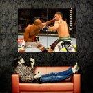 Edgar Vs Penn MMA Mixed Martial Arts Huge 47x35 Print POSTER