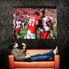 Cameron Heyward Handshake Andrew McDonald NFL Football Huge 47x35 POSTER