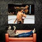 Hermes Franca Vs Marcus Aurelio MMA Huge 47x35 Print POSTER