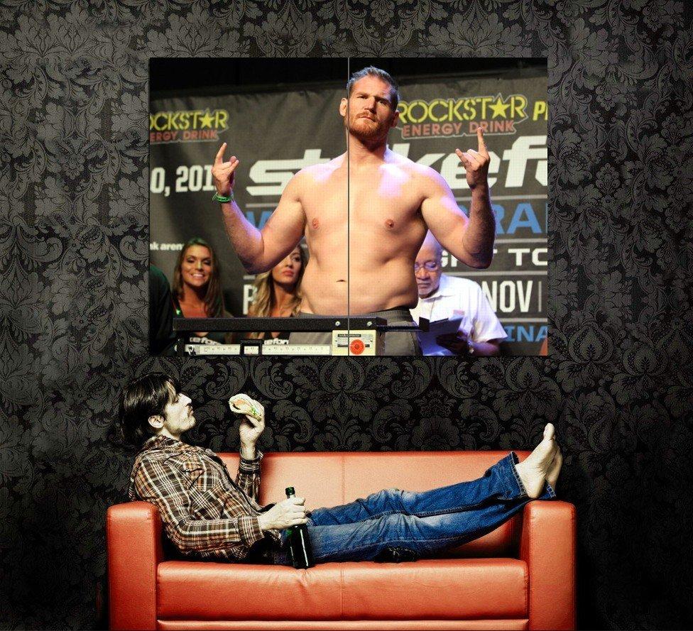 Josh Barnett MMA Mixed Martial Arts Huge 47x35 Print POSTER