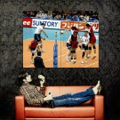 Tom Hoff USA Volleyball Men Sport Huge 47x35 Print POSTER