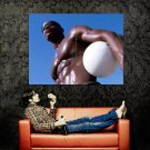 Hot Man Beach Volleyball Sport Huge 47x35 Print POSTER