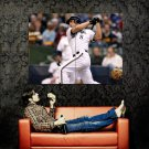 Ryan Braun Bat Baseball MLB Sport Huge 47x35 Print POSTER
