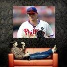 Hunter Pence Phillies Baseball MLB Sport Huge 47x35 Print POSTER