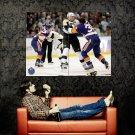 Penguins Vs Islanders Michael Rupp Huge 47x35 Print POSTER