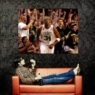 Paul Pierce Boston Celtics NBA Basketball Huge 47x35 Print POSTER