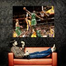 Kevin Garnett Blocks Kobe NBA Basketball Huge 47x35 Print POSTER