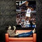 Karl Malone Dunk Utah Jazz NBA Huge 47x35 Print POSTER