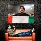 Gennaro Gattuso Italy Football Sport Huge 47x35 Print POSTER