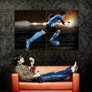 Lionel Leo Messi Football Sport Huge 47x35 Print POSTER