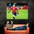 Eden Hazard Lille Soccer Football Sport Huge 47x35 Print POSTER