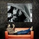 Snoop Dogg Hood BW Hip Hop Rap Huge 47x35 Print POSTER