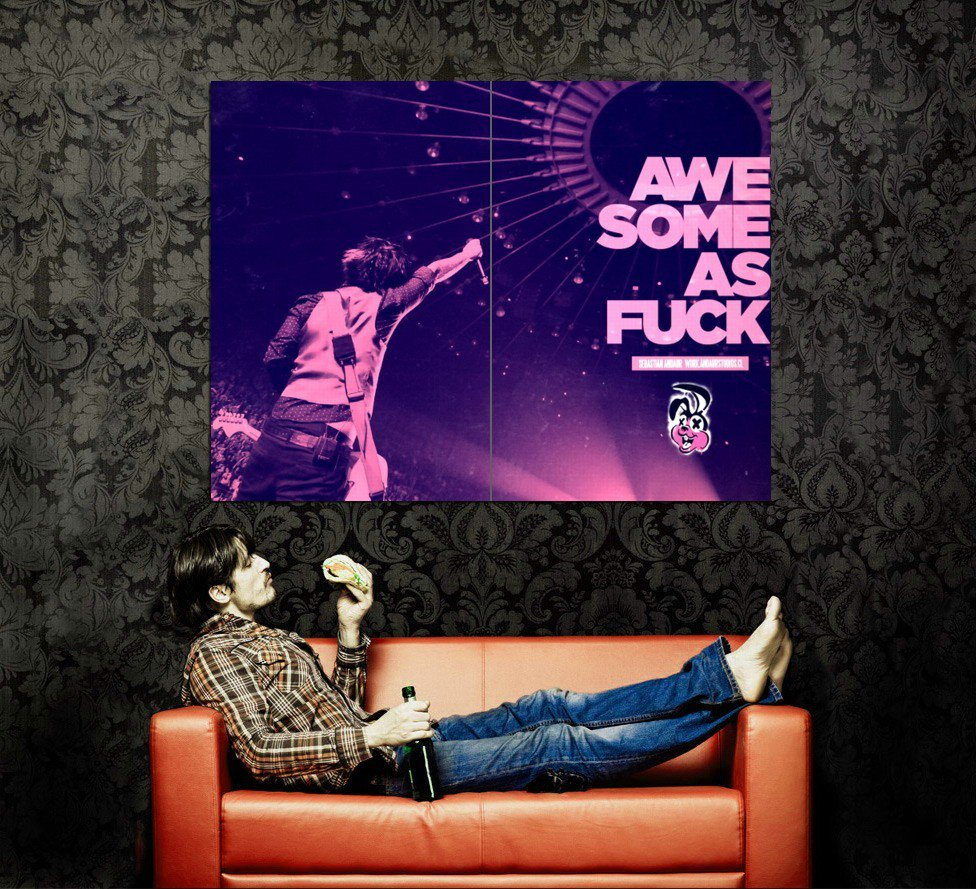Green Day Awesome As Rock Music Huge 47x35 Print POSTER