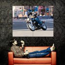 Honda Shadow RS Cruiser Custom Bike Huge 47x35 Print POSTER