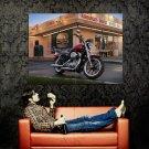 Harley Davidson Sportster XL883L Superlow Huge 47x35 Print POSTER