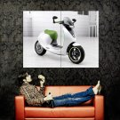 Smart EScooter Concept Bike Motorcycle Huge 47x35 Print POSTER