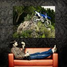 Yamaha WR250F Offroad Bike Motorcycle Huge 47x35 Print POSTER