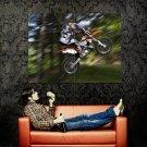 Ktm 250 Exc Jump Offroad Bike Huge 47x35 Print Poster