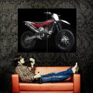 Husqvarna TC 449 Motocross Bike Huge 47x35 Print POSTER