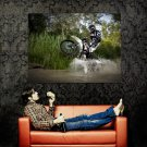 Derbi Senda DRD X Treme 50R Wheelie Huge 47x35 Print POSTER