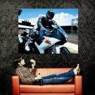 Suzuki GSX R 750 Super Sport Bike Huge 47x35 Print POSTER