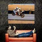 Ktm Rc8 R Wheelie Super Sport Bike Huge 47x35 Print Poster