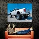 Dodge Ram Monster Truck Bigfoot Car Huge 47x35 Print POSTER