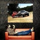 Ford Black Truck Pickup Retro Modern Huge 47x35 Print POSTER
