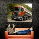 Scania R420 Truck Trailer Huge 47x35 Print POSTER