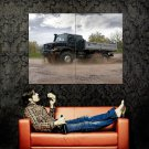 Mercedes Zetros Dirt Off Road Truck Huge 47x35 Print POSTER