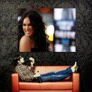 Megan Fox Wild Brunette Girl Hot Huge 47x35 Print POSTER