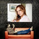 Tempting Redhead Girl Horny Babe Huge 47x35 Print POSTER