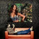 Hot Babe Blowing Kiss Boobs Cleavage Huge 47x35 Print POSTER