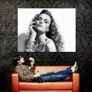 Tempting Babe Hot Portrait BW Huge 47x35 Print POSTER