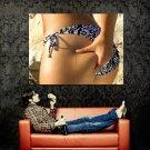 Girl Holding Butt Sexy Ass Bikini Huge 47x35 Print POSTER