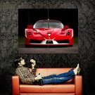Ferrari Fxx Front Red Sport Car Huge 47x35 Print Poster