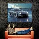 Ferrari Grey Rainy Sport Car Huge 47x35 Print Poster