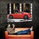 Glamour Girl Shops Supercar Huge 47x35 Print POSTER