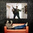 Yes Man Jim Carrey Guitar Movie Huge 47x35 Print Poster